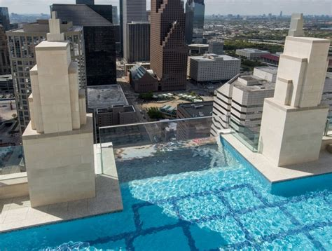 Cantilever Balcony by The View From This Floating 40 Story High Pool Will