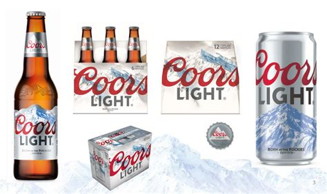 Coors Light by Coors Light Logo Change Monarch Beverage Company
