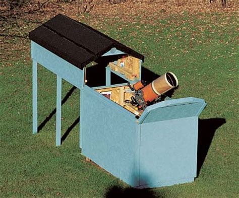 backyard telescope home built astronomy observatory pics about space