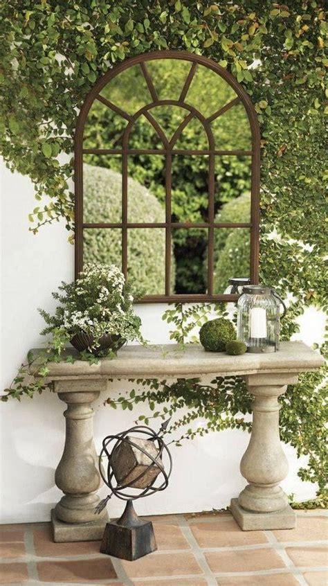 garden wall mirrors 25 best garden mirrors ideas on outdoor