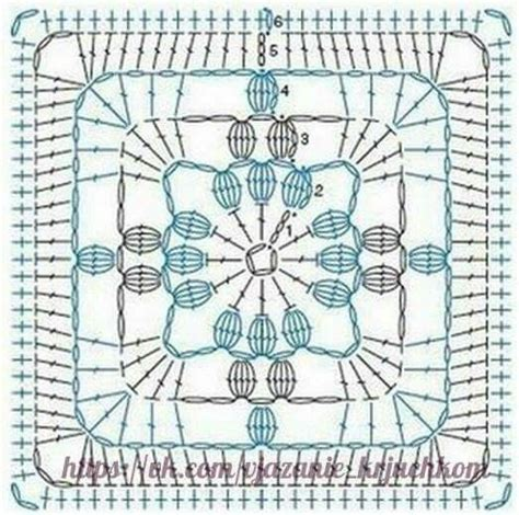 crochet diagrams square squares see best ideas about