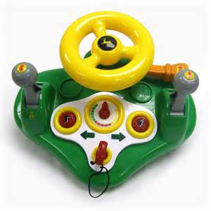 Steering Wheels Toys Deere Electronic Steering Wheel