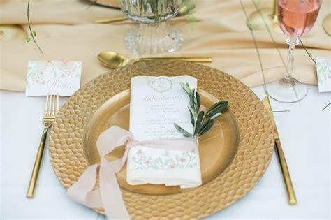 Goldene Hochzeit Tischdeko by Fr 252 Hlingshochzeit In Pastell Und Gold Friedatheres