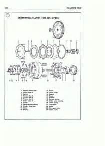 atv repair shop manual clutch diagram exploded views only