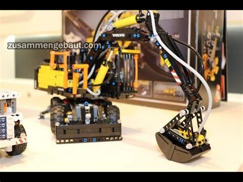 lego technic volvo ew   toy fair  youtube