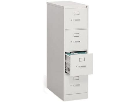 4 Drawer Letter Vertical File Cabinet Hon 314p Metal File Four Drawer Vertical File Cabinet