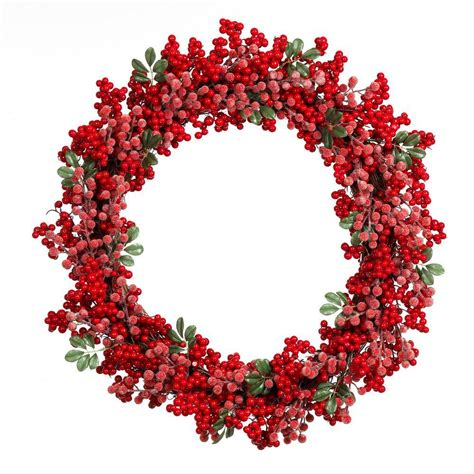 holiday wreath home accents holiday 28 in artificial christmas grapevine