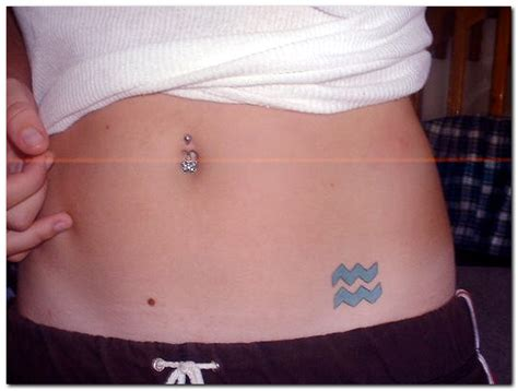 lower stomach tattoo designs aquarius on lower stomach tattooshunt