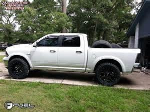 dodge ram fuel maverick d538 wheels black milled