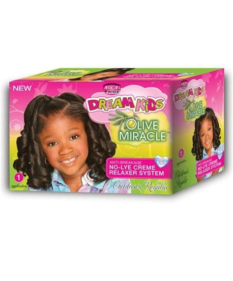 different brands of thio relaxers for african american hair in 2015 dream kids olive miracle no lye creme relaxer system dream