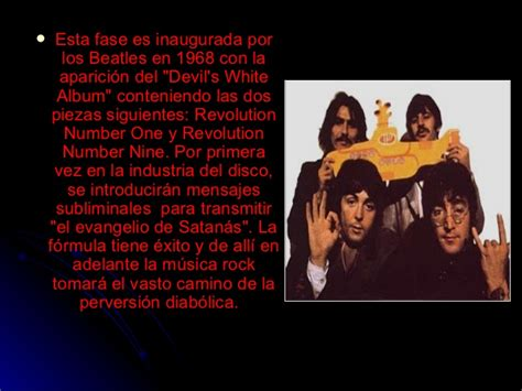 mensajes subliminales beatles el rock satanico y sus mensajes subliminales