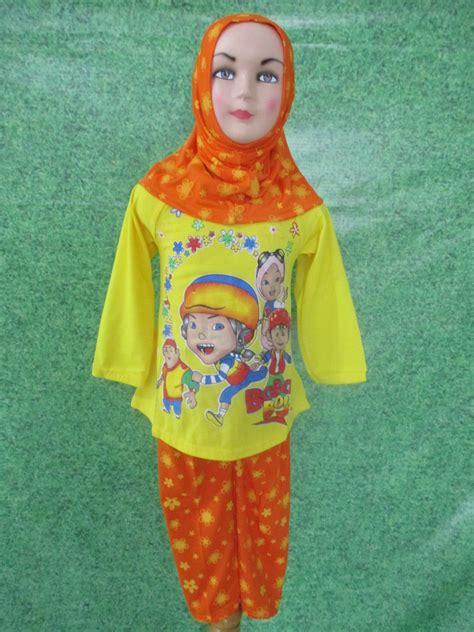 Setelan Dress Muslim Anak Kailla Mini set muslim cewek obralanbaju obral baju pakaian