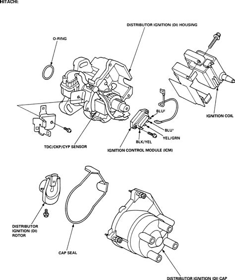 95 honda civic distributor wiring diagram 95 get free