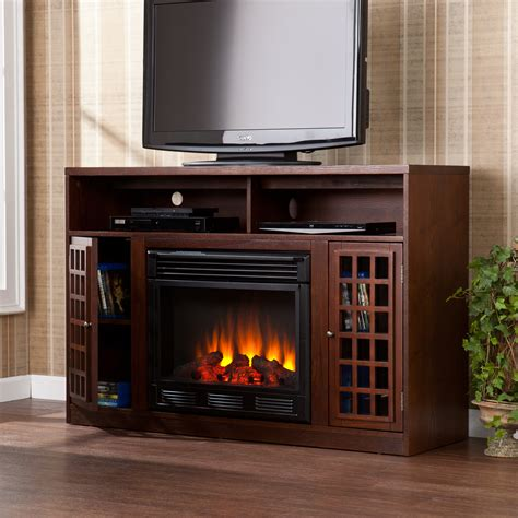 Electric Tv Fireplace Stand by Electric Fireplace Tv Stand Home Decorating
