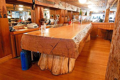 rustic wood bar tops wood slab countertop kitchen island i architecture and