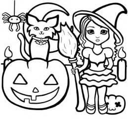 kindergarten halloween coloring pages free halloween