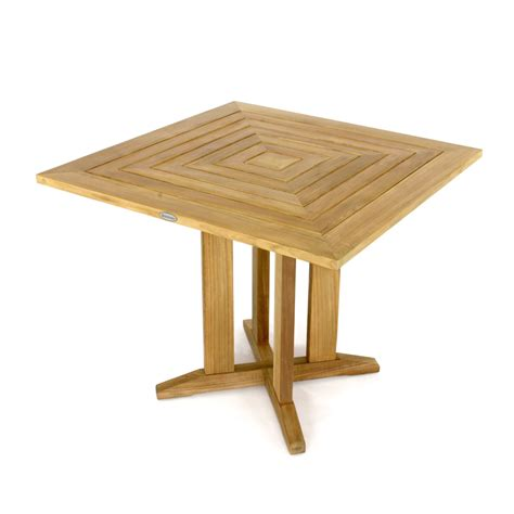 Teak Bistro Table Square Teak Patio Bistro Dining Set Westminster Teak Outdoor Furniture