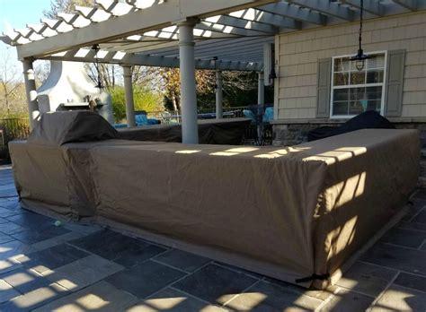 custom outdoor kitchen covers custom covers kreider s canvas service inc