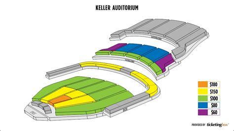 keller auditorium seating map keller auditorium seating chart