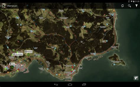 dayz sa map izurvive map for dayz applications android sur play