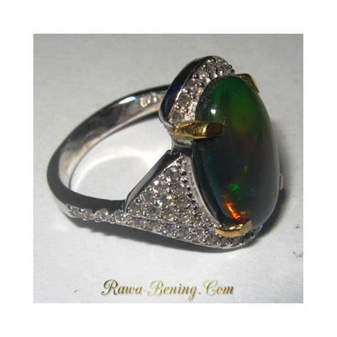 Cincin Multi Ring Silver Leaf harga batu permata november 2015