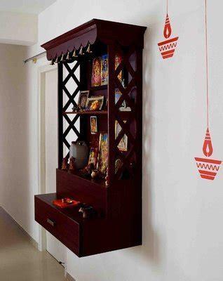 Kitchen Corner Cabinet Storage by Best 5 Pooja Room Designs For Indian Homes Honestcollars