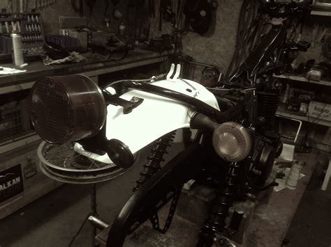 Yamaha Xt 500 Motor Lackieren by Yamaha Xt500 1979 Restauration Mex Wieshofer