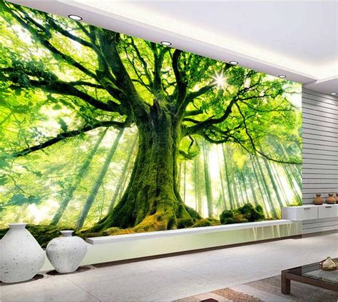 custom wallcoverings wallpaper decals and installation 3d wallpaper custom mural non woven wall stickers tree