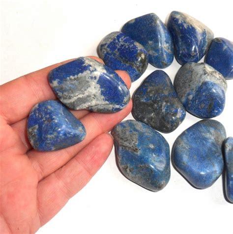 lapis lazuli polished gemstone