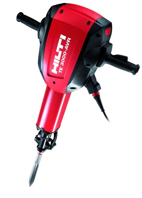 Hilti Inc. TE 3000 AVR Breaker in Concrete Equipment