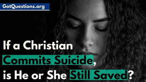 Ifa Christant if a christian commits is he or she still saved heaven or hell