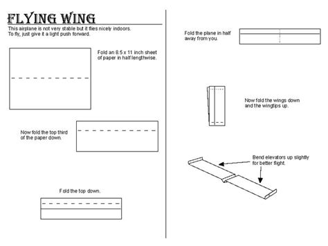 Ways To Make A Paper Airplane Fly Farther - paper airplane designs that fly the farthest