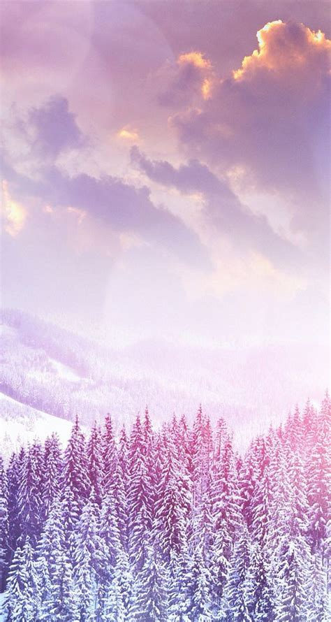 wallpaper pink phone snow mountain mountain wallpaper and wallpapers on pinterest
