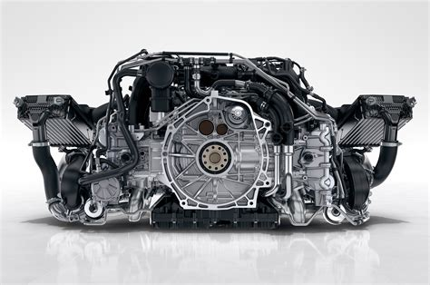 Porsche Engine 2017 Porsche 911 Gets All Turbocharged Engine