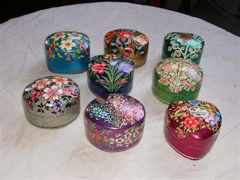 Paper Mache Crafts - paper mache boxes www 111 in sun international