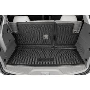 Integrated Cargo Liner Gmc Acadia 2015 Acadia Integrated Cargo Liner Shopgmcparts