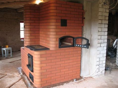 Russian Fireplace Plans by Russian Fireplace With Pizza Oven The Russian Fireplace Above Has Cooking Surface Above The