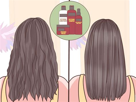 wikihow hair how to keep hair from curling with humidity 12 steps
