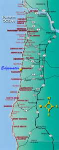 oregon coast map get domain pictures getdomainvids