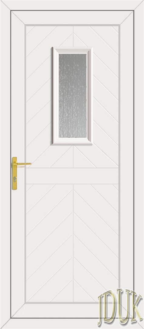 Glass Back Door One Glazed Upvc Back Door
