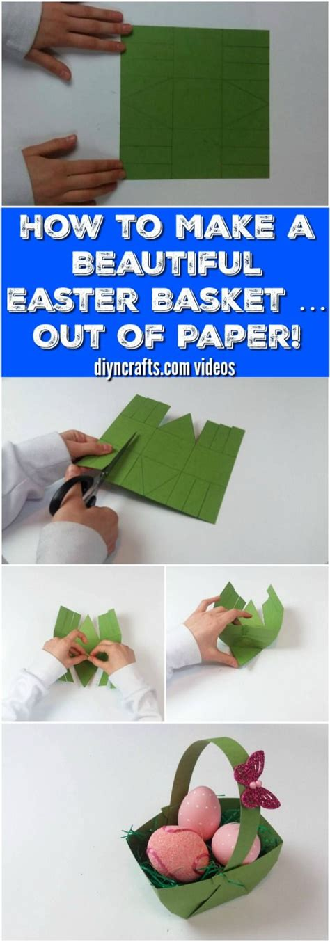 How To Make Easter Baskets Out Of Paper - 25 best ideas about paper basket on recycle