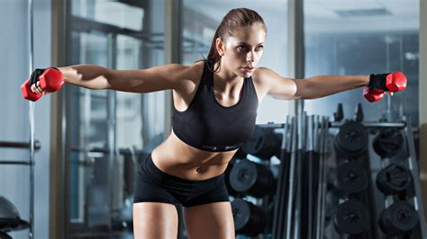 imagenes ropa fitness fitness chica ropa deportiva mancuernas gimnasio fondos
