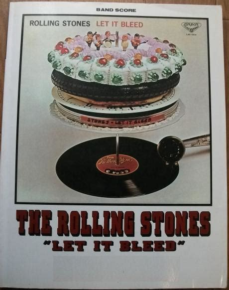 libro let it bleed a rolling stones let it bleed band score tablature chitarra