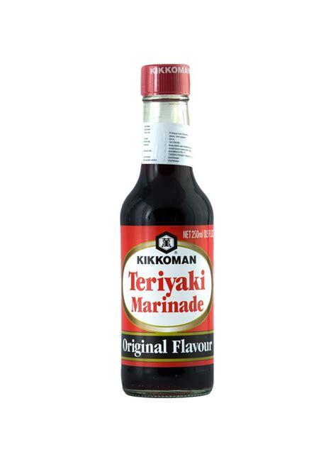 Saus Teriyaki Marinade Kikoman kikkoman sauce teriyaki marinade original flav btl 250ml