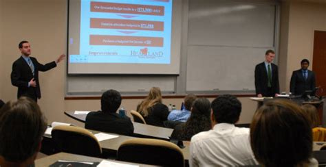 Isu Mba by Iowa State Mba Students Apply Their Skills While Giving