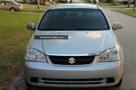 Suzuki Forenza 2012 2008 Suzuki Forenza Base Sedan 4 Door 2 0l