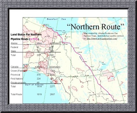 road map of northern usa and canada alaska pipeline route pictures to pin on pinsdaddy
