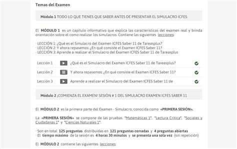 Calendario B Icfes Simulacro Examen Icfes Saber 11 Calendario B 2018 Examen