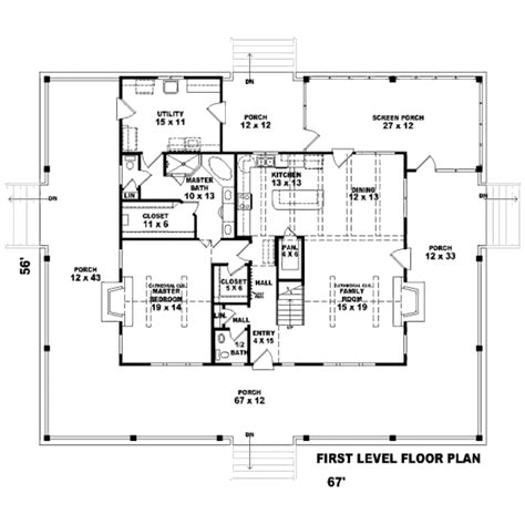 country style house plan 3 beds 2 5 baths 2662 sq ft
