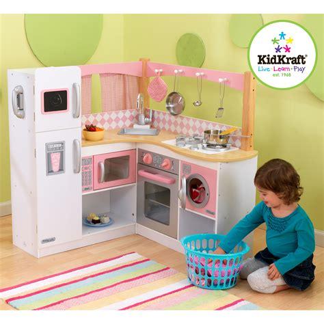 kidkraft grand gourmet corner play kitchen  play